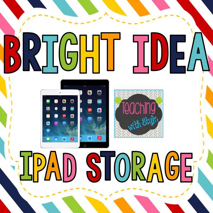 Classroom Ipad Ideas ~ Best ideas about ipad storage on pinterest student