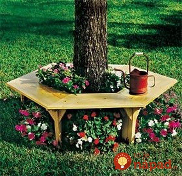 c2d884fc4 Nepotrebujete drahý záhradný nábytok: Čarovné inšpirácie, ako vytvoriť v  záhrade či na terase prenádherné sedenie!