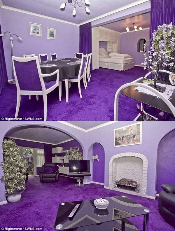 Best 25 Purple Interior Ideas On Pinterest Purple Home