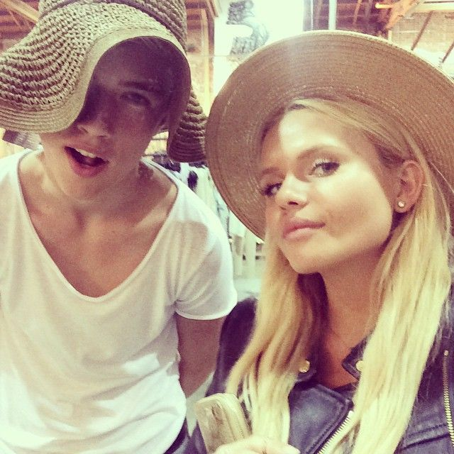 Lucky blue smith and alli simpson