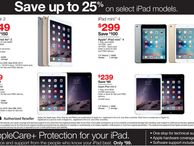 Staples takes 25% off select Apple iPad tablets and more for Black Friday blowout Staples teases a preview of its Black Friday deals and plans to cut you a seriously deep discount on Apple iPad models.