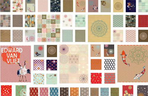 Patterns Fabrics by Edward Van Vliet