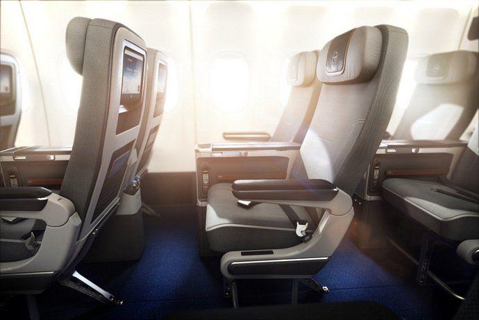 Lufthansa Premium Economy Seats on Boeing 747-8