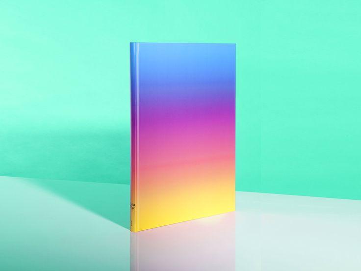 "weareinternetexplorers ""Waska Tatay by Thierry Häusermann"" #grafica #libro #editoria #cover #gradient #colori"