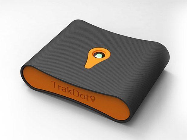 TrakDot - Luggage tracking device