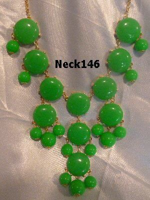 Necklace Green #Neck146