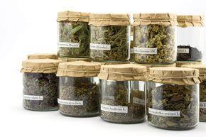 Mon tisanier en 3 minutes - Les plantes les plus utiles à avoir chez soi ! Chaque tisane dans son bocal et tout le monde à l'abri de la lumière.
