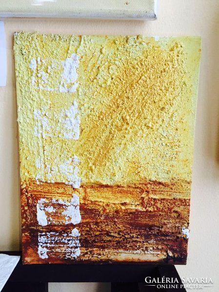 Absztrakt szentendrei kortárs festmény a művésztől