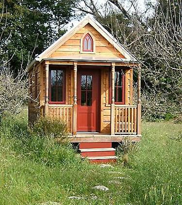 Can't get smaller than this cute house