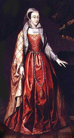Mary Queen of Scots - Born 1546, Imprisoned 1568, Executed 1587 -  Mother of King James I of England