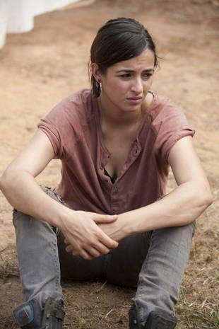 Alanna Masterson Sexy | The Walking Dead Season 4: Where Did Tara Chambler Go? | The Walking ...
