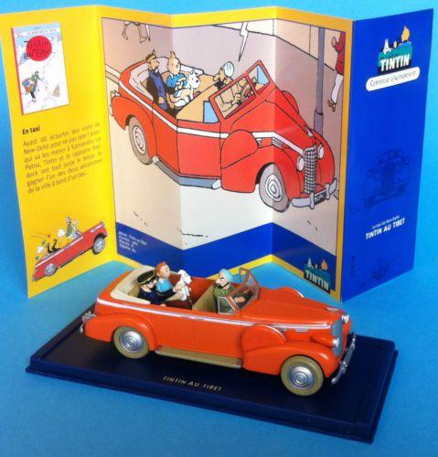 Voiture Tintin Car Atlas N 176 15 Cadillac Fleetwood 1938