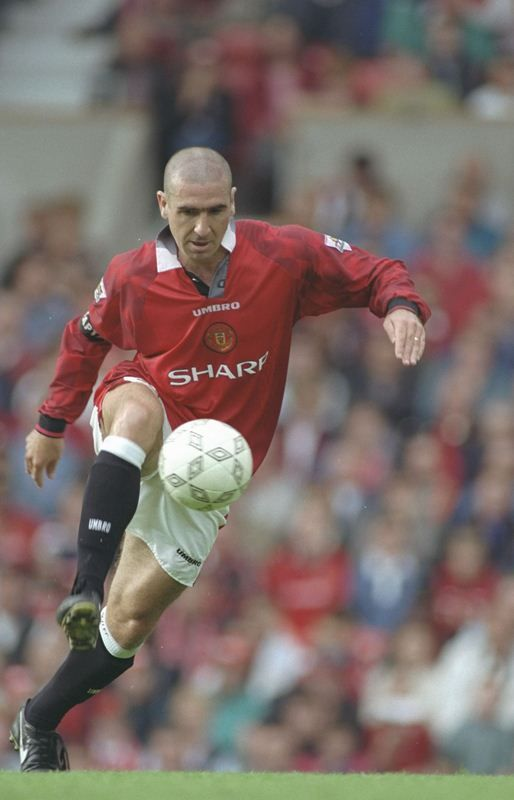 Eric Cantona's decision to announce his retirement at the age of 30 was a bolt out of the blue for the Manchester United fans still celebrating another title victory.