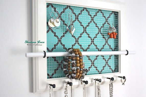 Hey, I found this really awesome Etsy listing at https://www.etsy.com/listing/173581801/jewelry-organizer-jewelry-holder