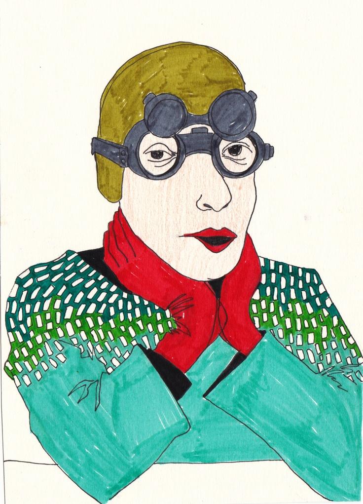 portrait , pattern ,fasion
