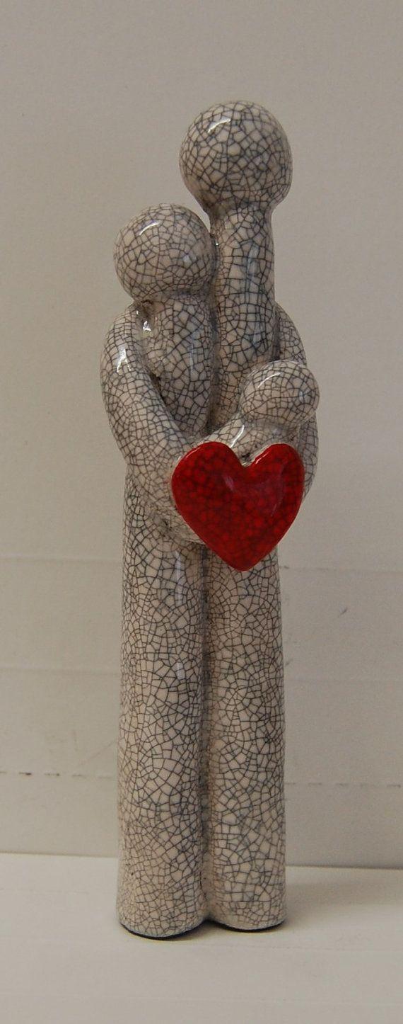 Perfect Love unique ceramic figures by MartinONeillceramics, £25.00 www.facebook.com/martinoneill15.