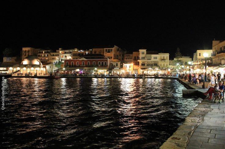 Summer nights in Chania Old Town..