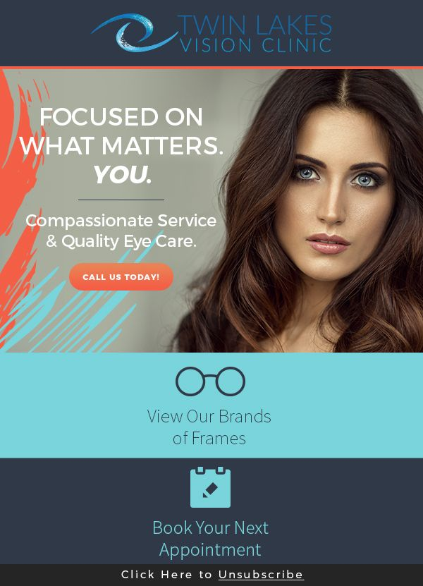 Visit us today and see the great selection of designer eyewear and sunglasses!  http://twinlakesvisionclinic.com/ #eyeglasses #eyewear #sunglasses #contactlenses