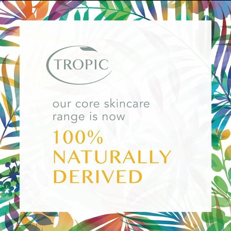 Think a 100% naturally derived skincare range is too good to be true? Think again! Discover how we achieved it in our latest blog post!  Link: bit.ly/1LhMyjxbeauty #bbloggers #skincare #natural #naturalbeauty #tropic #lovetropic