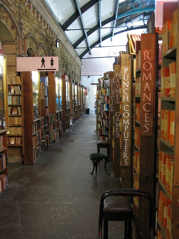 """Barter Books, London... home of """"Keep Calm, Carry On"""""""
