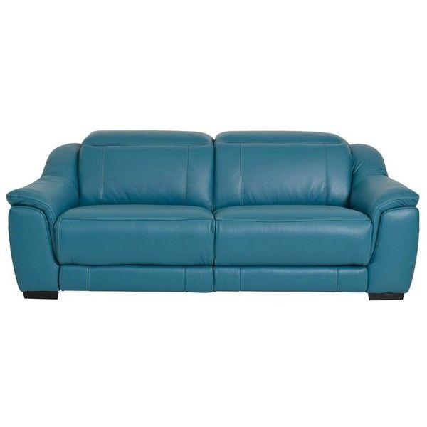 El Dorado Furniture Davis Turquoise 86 Quot Power Motion Duo