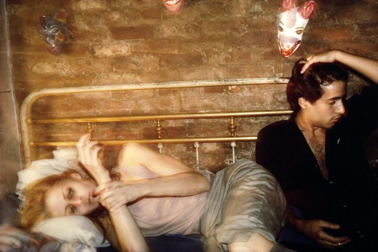 Nan Goldin 'Greer and Robert on the bed, NYC', 1982 © Nan Goldin