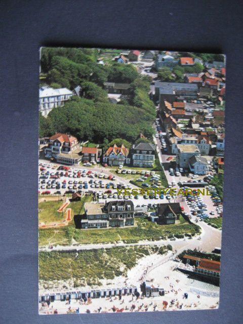 Domburg 1960 - badplaats luchtfoto