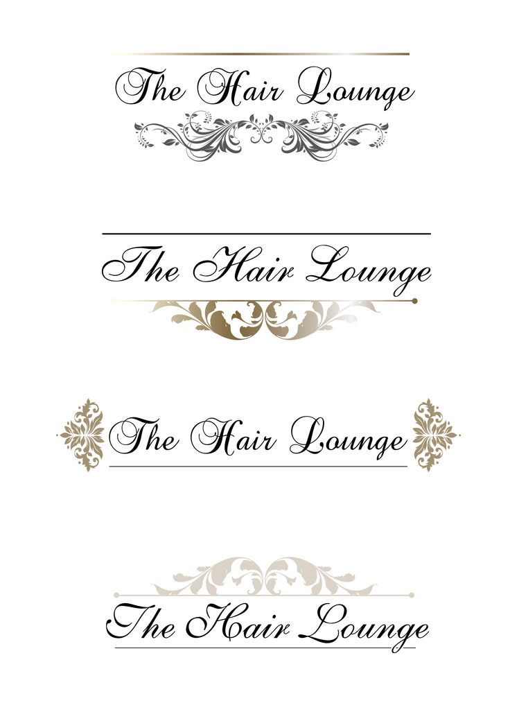 These logos were for a local Hair salon that wanted some price lists, appointment cards, vouchers and loyalty cards creating. The business had already set up so I had to mock up a logo we could use for the branding that already went with the identity and decor the salon already had!