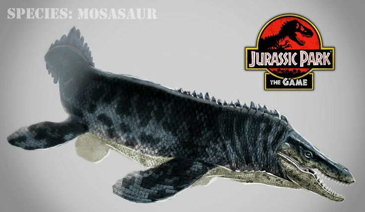 Mosasaur from Jurassic Park: The Game | Sea Monsters from ...