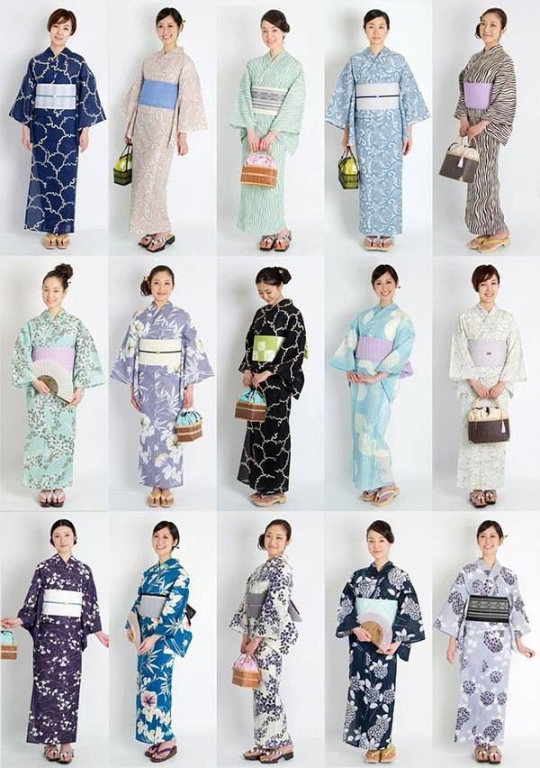 Yukata - summer kimonos