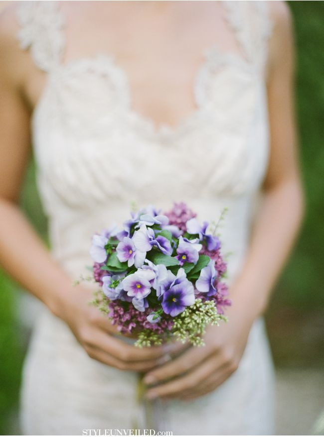 21 Best Images About Wedding Themes Pansies On Pinterest