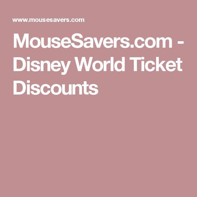 Walt disney world discount orlando tickets coupons