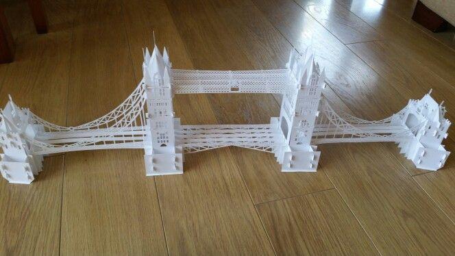 Origami arquitectonico: The Tower Bridge