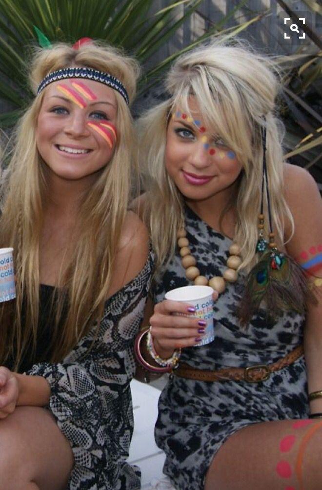 Face paint summer festival
