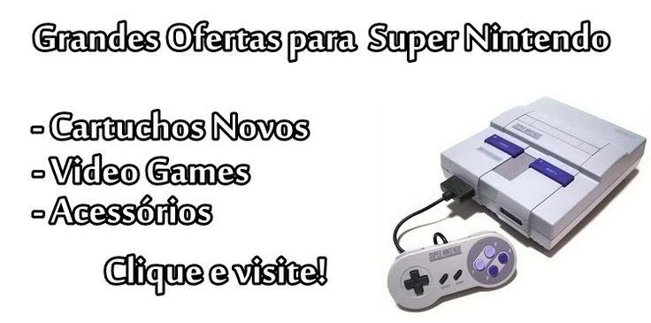 Lista de jogos do Super Nintendo - Clássicos do Super Nintendo - Jogos, Roms
