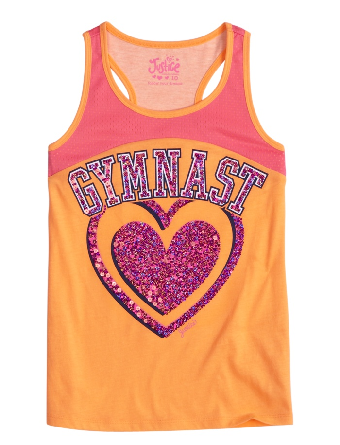 Sport Racerback Tank | Sporty Play | Active Outfits | Shop Justice