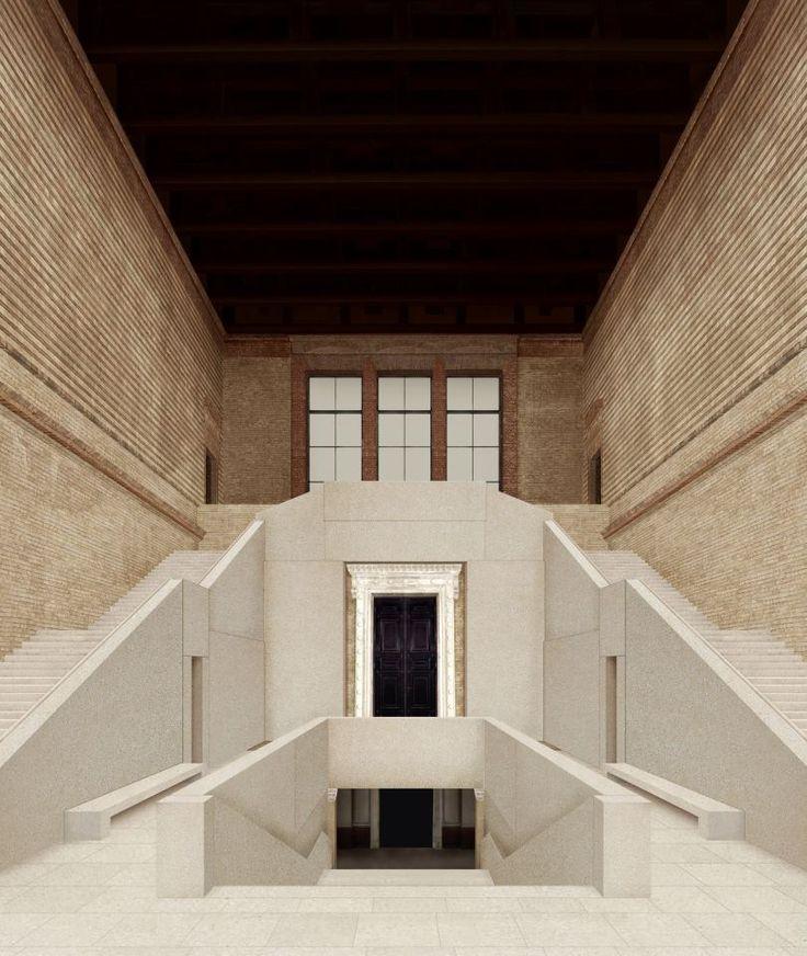 Neues museum berlin david chipperfield museum for Interior architecture berlin