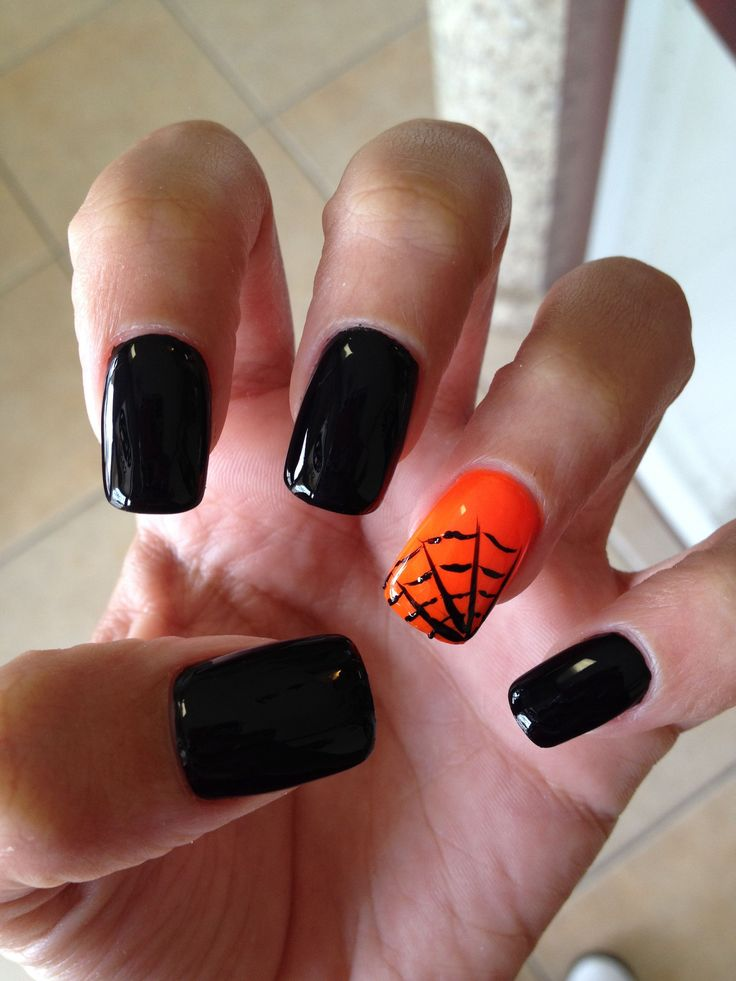 Ditch the Costumes and Match Halloween Nails with Fall Fashion