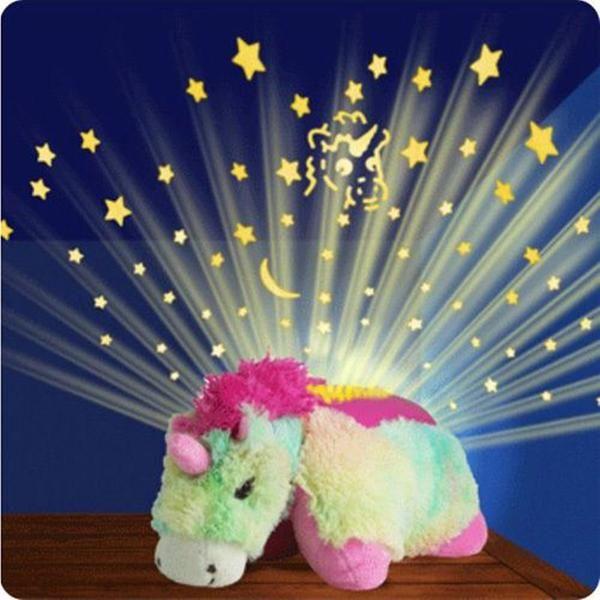 Pin By Unicorns Are Awesome Unicorn B On Unicorn Toys Animal Night Light Animal Pillows Starry Night Light