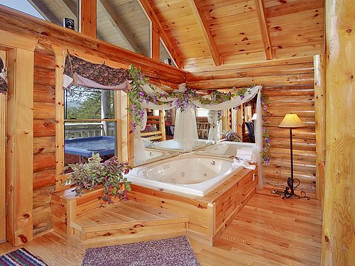 The Sugar Shack at Alpine Mountain Village - Perched on a hillside with a fantastic view of the Smoky Mountains, this is the perfect place to relax and refresh. Click here: http://www.cabinfevervacations.com/cabin-detail/?cid=842