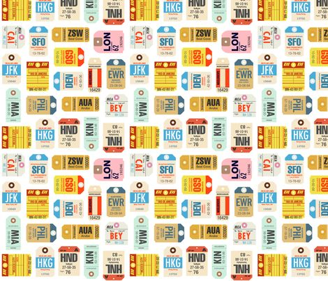 Time Travel fabric by nadiahassan on Spoonflower - custom fabric
