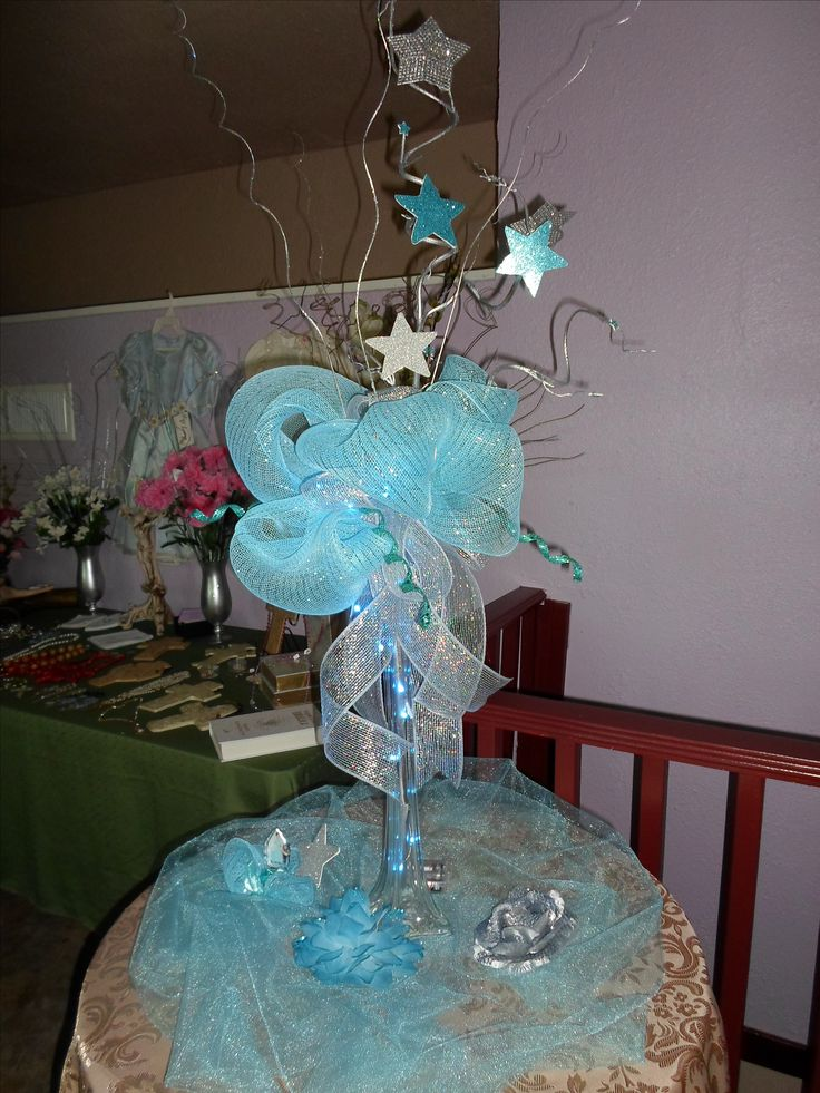 17 best images about arreglos de mesa xv anos on pinterest - Centros de mesa para quinceaneras ...