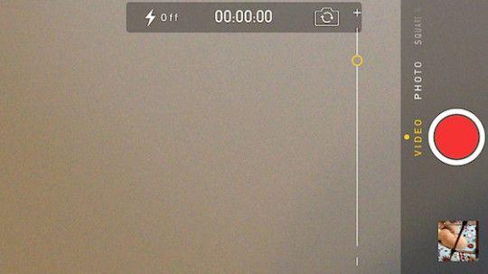 Come attivare lo zoom durante i video su iPhone 4 e iPhone 4S su iOS 7