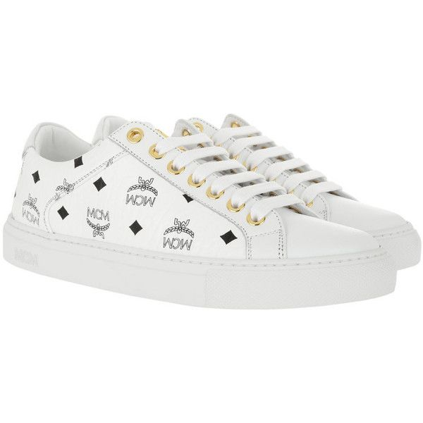 MCM Sneakers - W Lace Up Sneakers White
