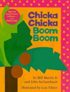 Chicka Chicka Boom Boom teaches letters and is tons of fun! The sing-song rhythm also helps children to both hear the individual sounds in the words and crave the story again and again. This is a classic for a reason!