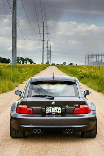 BMW Z3 M Coupe grey
