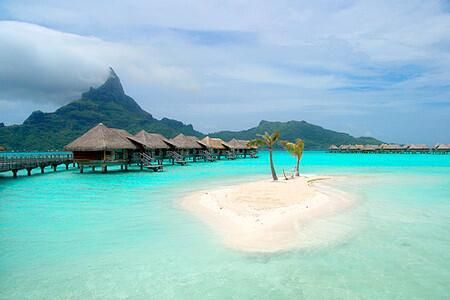 """Earth Pics: Bora Bora is Perfect "" Eric Craigen"