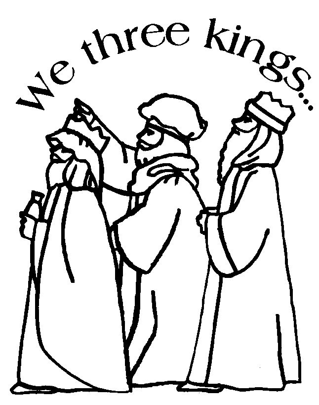 christian nativity coloring pages - photo#10