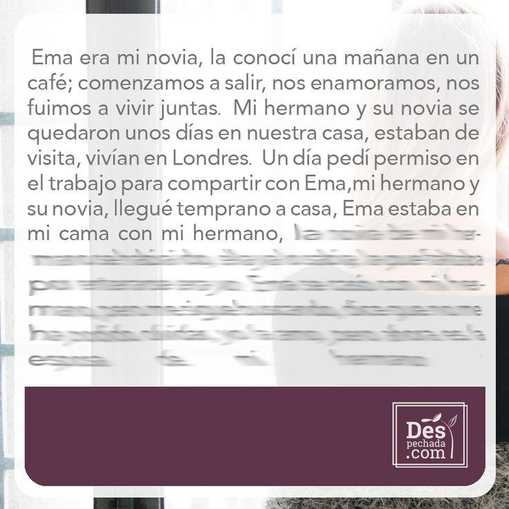 ¿Quieres saber qué pasó con este triángulo amoroso? Ingresa a www.despechada.com #agritoherido