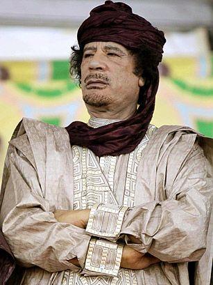 """O que """"matou"""" Kadhafi"""